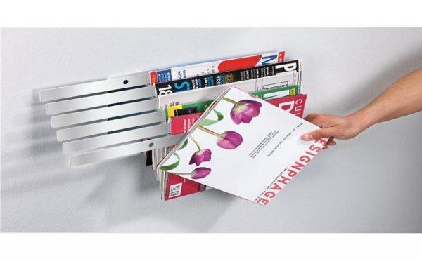 Un porte-revue en apesanteur : le rangement idéal des magazines