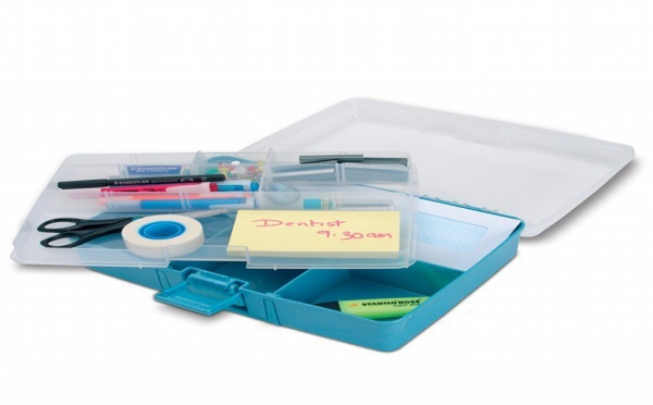 Des boites plastique à compartiments