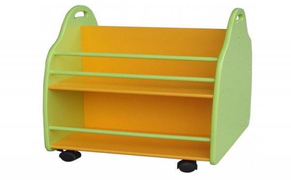 Une bibliothèque adaptée aux enfants