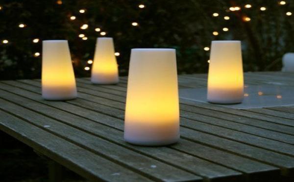 Des veilleuses et lampes nomades pour les soirées