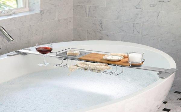 Détente ! Plateau baignoire recherche bain moussant