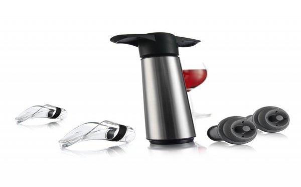 La pompe à vide Vacu-Vin: Conserver vos bouteilles entamées plus longtemps