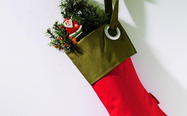 Décoration de Noël : la chaussette du Père-Noël
