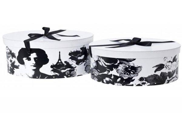 Les boites à chapeau Mademoiselle : un accessoire déco