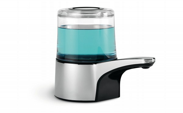 Le distributeur de savon automatique