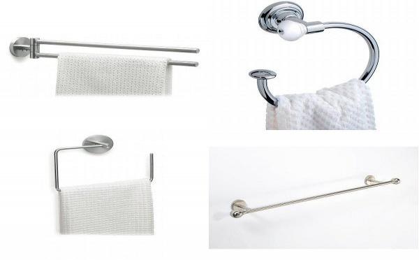 Le porte-serviette : quel style pour votre salle de bain ?