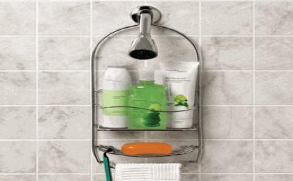 Un serviteur de douche pour avoir tout sous la main