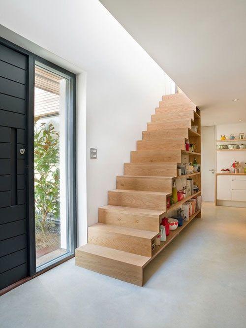 Comment Utliser L 39 Espace Sous Un Escalier
